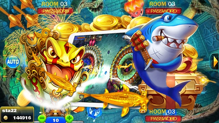 Gold Deluxe เกมส์ยิงปลา
